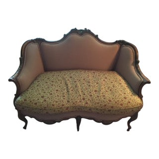 French Shabby Chic Loveseat