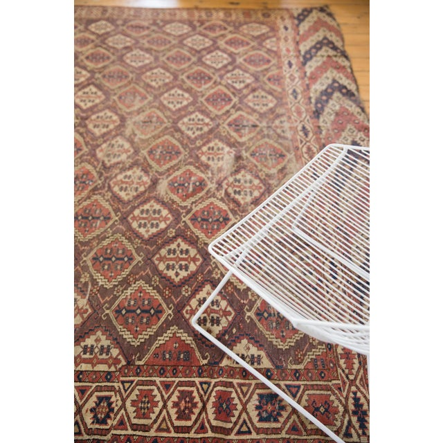 """Old New House Antique Beshir Carpet - 8'9"""" X 14' For Sale - Image 4 of 13"""