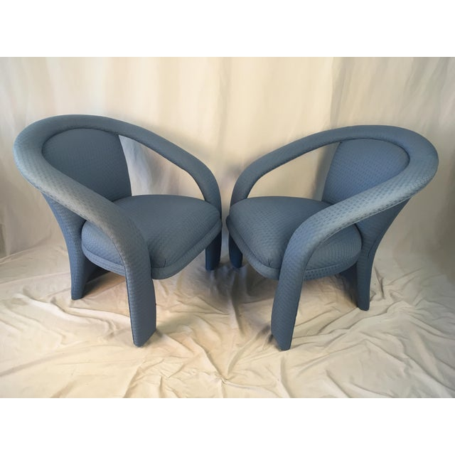 Vintage Carson Chairs- a Pair For Sale - Image 10 of 10