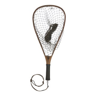 Vintage Fishing Hand Net For Sale