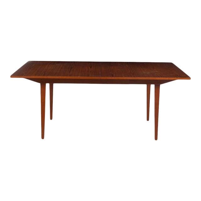 George Nelson Herman Miller Dining Table, Mid-Century Modern Teak Wood For Sale