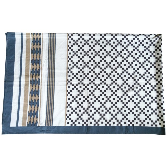 Patterned Neutrals Table Cover - Image 1 of 3