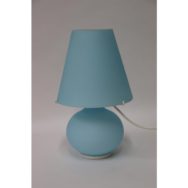 """Paralume"" Murano Due Mid-Century Modern Glass Table Lamp For Sale - Image 13 of 13"