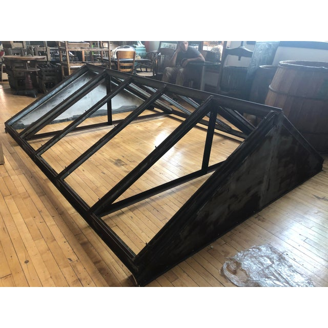 Antique Metal Skylight For Sale In Chicago - Image 6 of 7