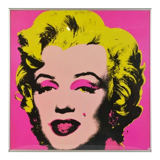 Marylin Monroe Andy Warhol Poster For Sale