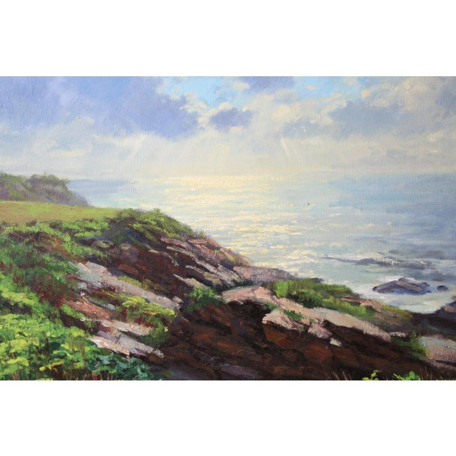 Caddell Seascape of Belfast Maine For Sale In New York - Image 6 of 8