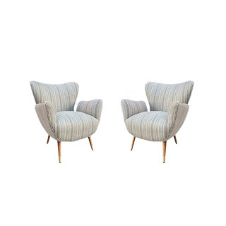 1960s Mid-Century Modern Butterfly Chairs - a Pair For Sale