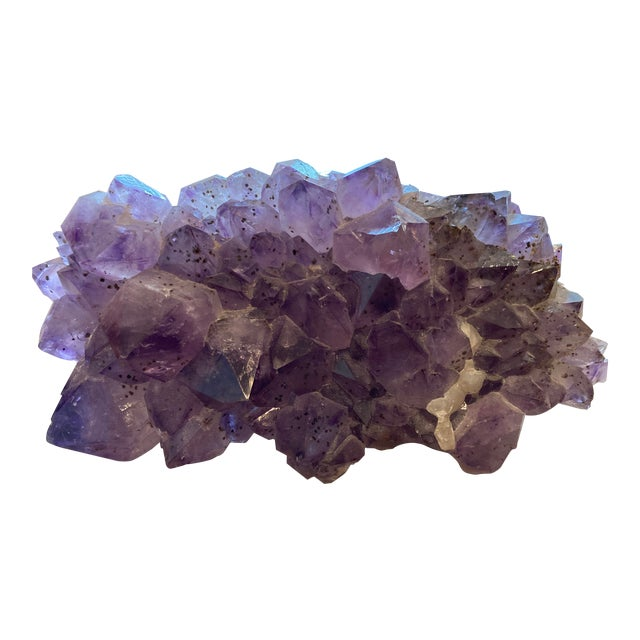 Amethyst Large Cut Cluster For Sale