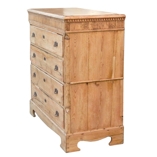 Late 19th Century Tall Pine Dresser For Sale - Image 5 of 7