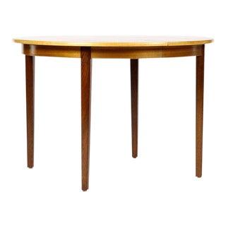 1960s Vintage Ornen Mobelfabriken Danish Modern Dining Table For Sale