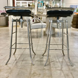 Vintage Mid Century Italian Barstools-a Pair Preview
