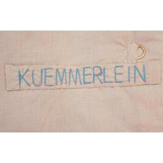 Blue Janet Kuemmerlein Wall Hanging For Sale - Image 8 of 8