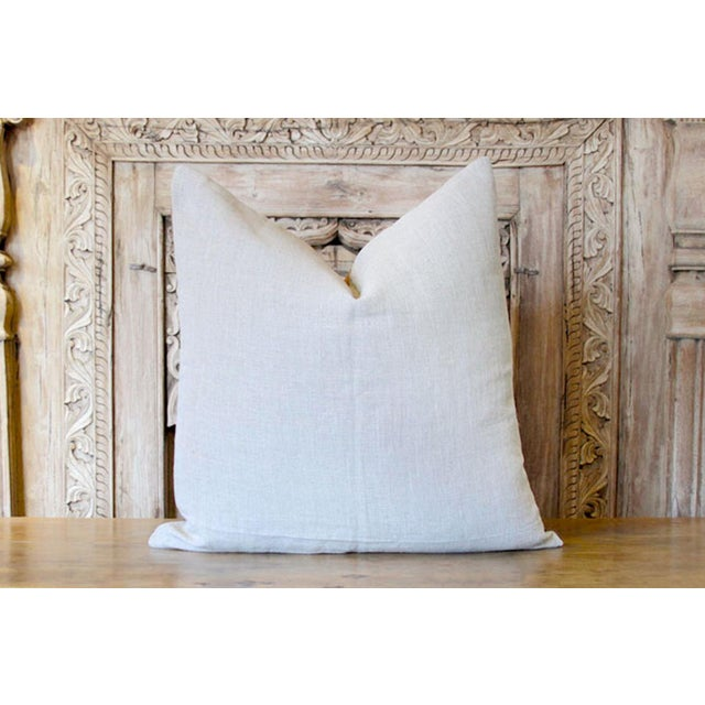 Bostan Suzani Throw Pillow For Sale - Image 4 of 6