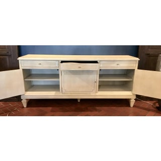 Lilian August for Hickory White Transitional Ivory Wood Foster Server Preview