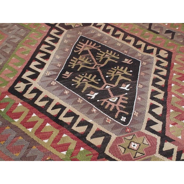 Small Chal Kilim For Sale - Image 4 of 5