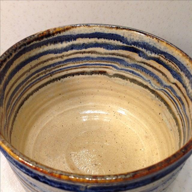 Vintage Handmade Pottery Bowl - Image 6 of 10