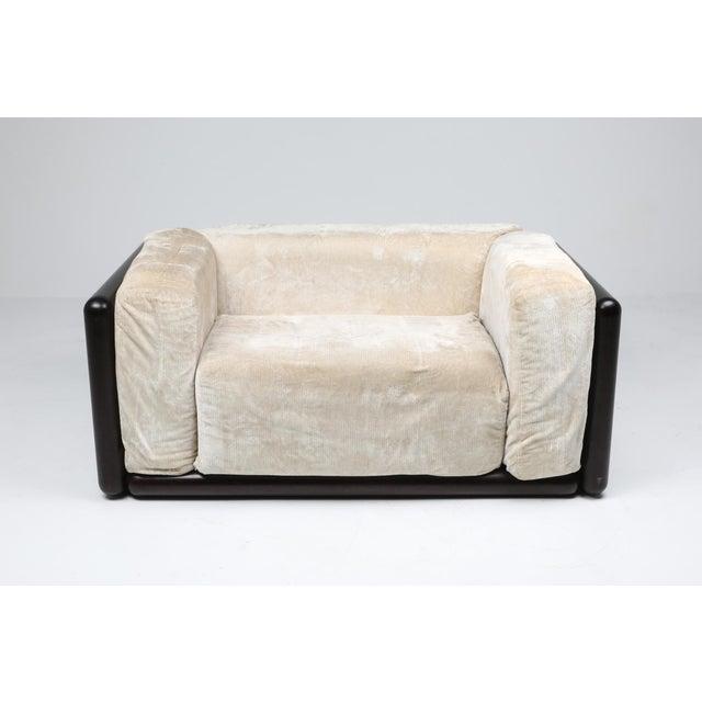 White Carlo Scarpa 'Cornaro' Lounge Chair for Simon, 1973 For Sale - Image 8 of 12