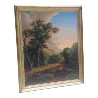 Large 19th Cent. American Painting For Sale