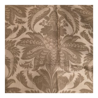 Lewis & Wood Venetian Damask Fabric - 1.5 Yards For Sale