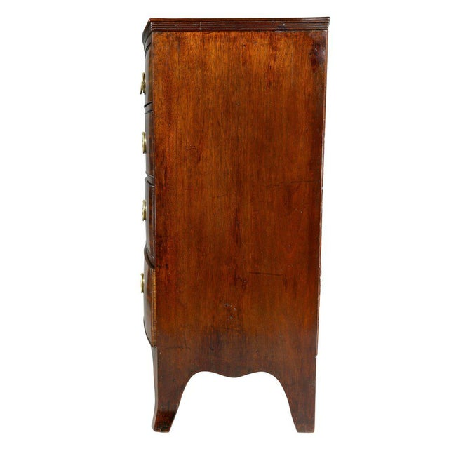 Mahogany George III Mahogany Chest of Drawers For Sale - Image 7 of 8