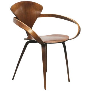 Norman Cherner Pretzel Dining Chair, Made by Plycraft, Usa, 1960s For Sale