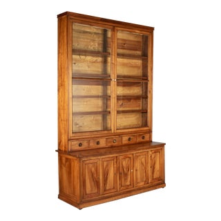 19th Century Louis Philippe Display Cabinet or Bibliotheque For Sale
