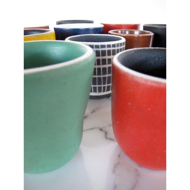 Boho Chic Collection of Waylande Gregory Cups - Set of 18 For Sale - Image 3 of 10