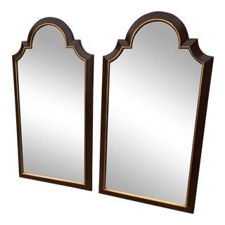 Freidland Brothers Mahogany Archtop Mirrors - A Pair