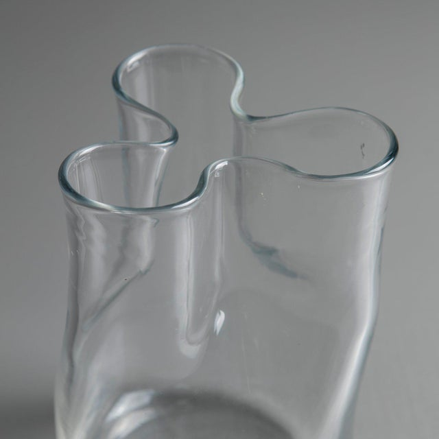 "Transparent ""Trinidad"" Carafe by Enzo Mari for Danese For Sale - Image 8 of 11"