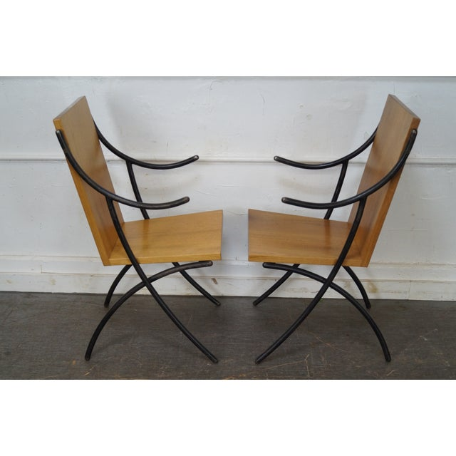 Rob Hare Klismos Essex Dining Chairs - Set of 6 - Image 3 of 10