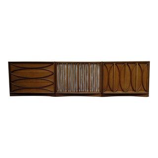 "T H Robsjohn-Gibbings for Widdicomb Rare ""Madeira"" Credenza Cabinets For Sale"
