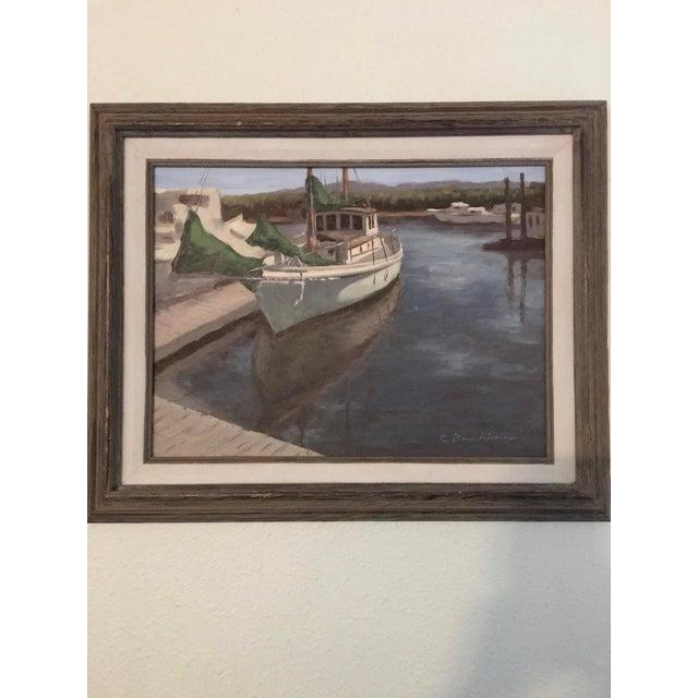 "Nathan Drushinin ""At Lovric's"" Painting - Image 2 of 4"