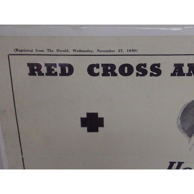 Vintage Red Cross Newspaper Advertisement 1940 - Image 4 of 6