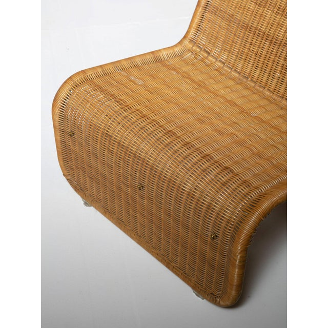 Gold Large Wicker Set by Tito Agnoli for Bonacina For Sale - Image 8 of 10