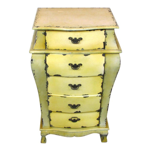 Short Yellow Chest of Drawers - Image 1 of 5