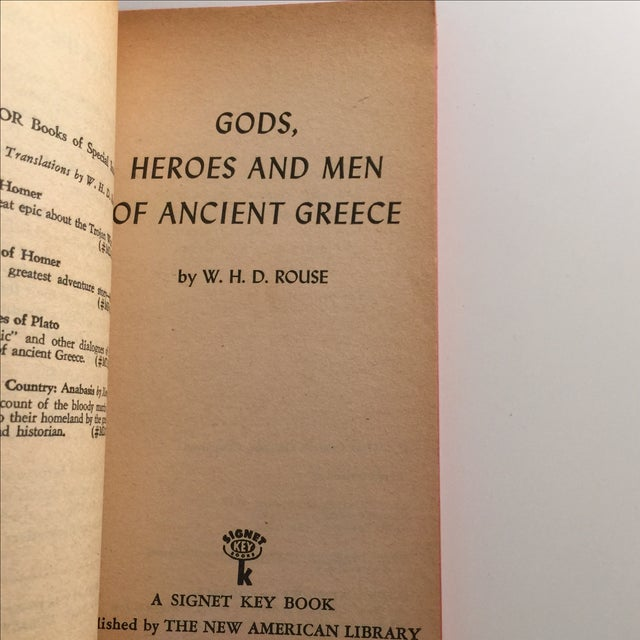 Gods, Heroes & Men of Ancient Greece, Rouse 1962 For Sale - Image 4 of 5