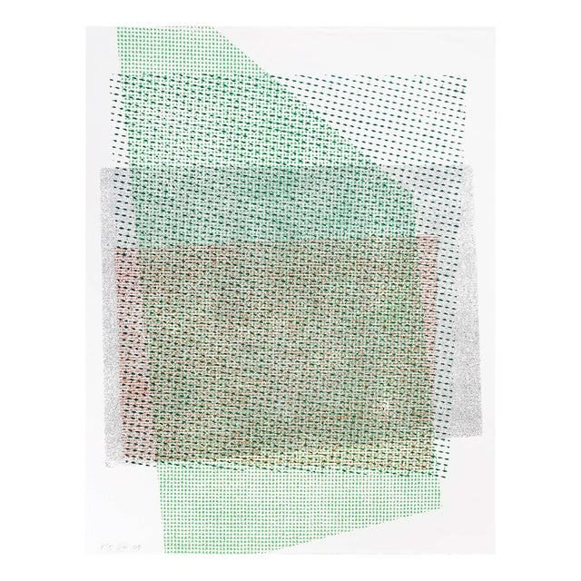 """Stephen Maine """"Pitched Planes 135"""", Print For Sale"""