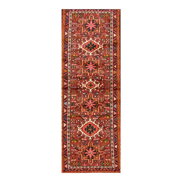 "Apadana - Vintage Persian Heriz Rug, 2'3"" x 6'10"" For Sale"