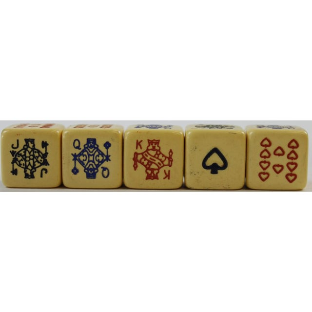 Abercrombie & Fitch Leather Dice Set - Image 3 of 9