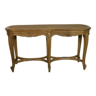 1940s Vintage Louis XV Style Bench For Sale