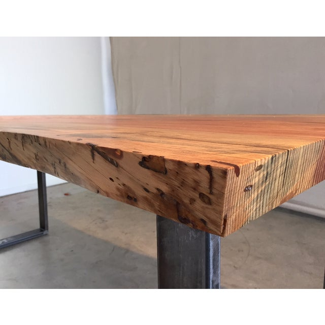 Ojai Stone Pine Live Edge Dining Table - Image 3 of 6
