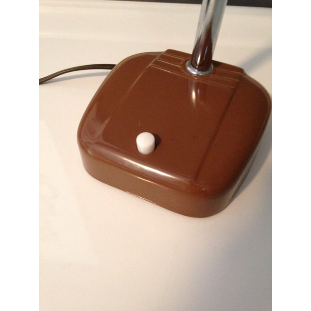 Mid-Century Industrial Gooseneck Desk Lamp For Sale In Minneapolis - Image 6 of 6