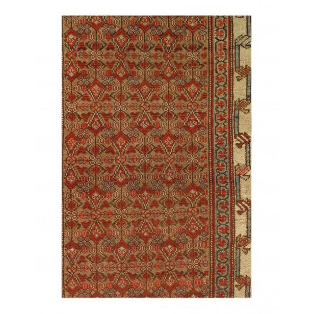 Traditional Pasargad Rust Antique Malayer Runner- 3'3'' X 9'4'' For Sale - Image 3 of 4