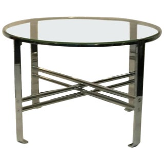 Art Deco Modernist Chrome Table by Wolfgang Hoffmann For Sale