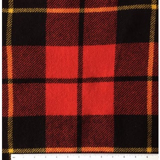 Red Plaid Wool Blanket Preview