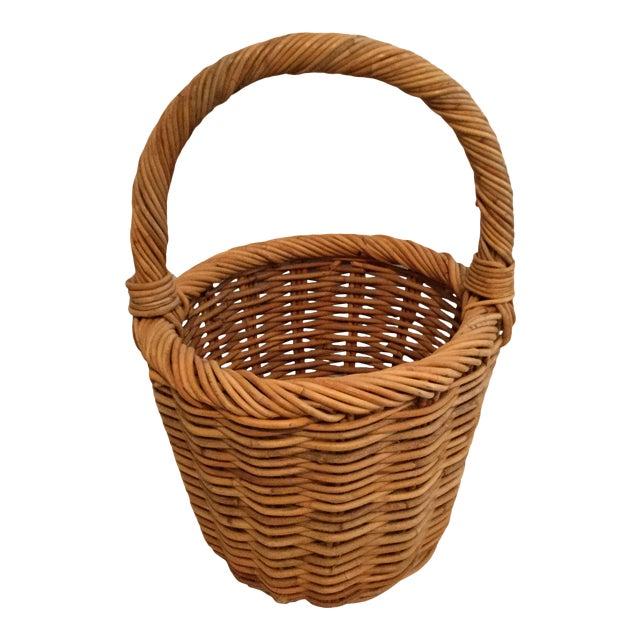 Vintage Wishing Well Basket For Sale