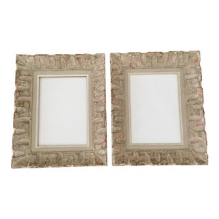 Mid-Century Carved Frames - a Pair