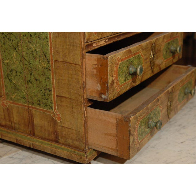 19th Century Continental European Miniature Chest For Sale - Image 4 of 6