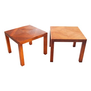 Mid-Century Parson Side Tables - a Pair