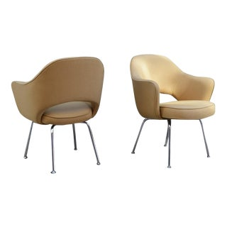 Eerro Saarinen for Knoll Executive Armchairs - A Pair